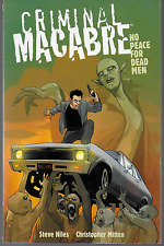 Criminal Macabre: No Peace for Dead Men by Niles & Mitten GOON! 2013 TPB DH OOP