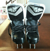 Mission Inhaler RS Roller Hockey Skates Adult Size US 9.5 NO WHEELS