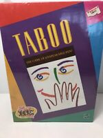 NOS 1999 Vintage Taboo Game Hasbro Factory Sealed For Adults Party Fun Sealed