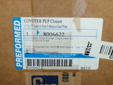 """Preformed Coyote PUP Closure 8006622 6"""" x 17"""" for Splices"""