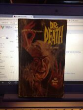 Dr. Death Horror Sleaze Paperback From 'zorro' 1966