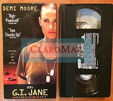 ☀️ G.I. Jane VHS Movie Demi Moore Anne Bancroft Ridley Scott Film