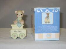 Precious Moments * Birthday Train Baby Bear (Porcelain)  142020 NIB
