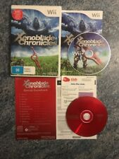 Xenoblade Chronicles Special Soundtrack Edition Wii Very Rare VGC PAL