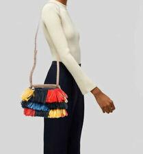 DVF Diane von Furstenberg Woven Raffia Crossbody Bucket Bag RRP£785 BNWT