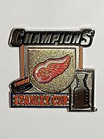 1998 NHL Hockey Stanley Cup Champions Detroit Red Wings Lapel Pin