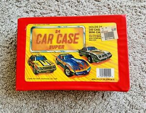 Tara Toy Corp. Deluxe 24 Car Collector's Case Vintage Hot Wheels / Matchbox