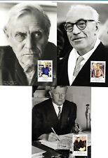 2012 NOBLE PRIZE WINNERS - 5 MAXICARDS - 5 x 60 STAMPS - NEW & SEALED