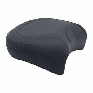 "Mustang Pillion Seat Pad 13,5 "" For Rest Black, Harley-Davidson Touring 97-18"