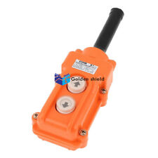 COB-61 Crane Pendant Control Station UP Down Hoist Push Button Switch
