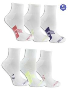 "Fruit of the Loom® Women's Everyday Active Ankle Socks 6 Pack "" MORE CUSHIONING"""