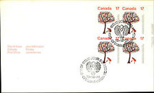CANADA 1. Day of Issue Cover Brief FDC Stempel OTTAWA 1979 Year of Child Kinder