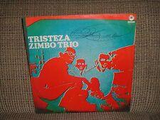 ZIMBO TRIO LP TRISTEZA 71' BOSSA JAZZ BRAZIL VG+ TOM JOBIM ALOYSIO DE OLIVEIRA