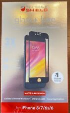 New Zagg Glass Luxe HD For Iphone 6 or 6S/ 7 / 8 Matte Black