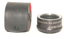 Asanuma Lens ~ 2X AUTO TELECONVERTER ~ To Fit PENTAX Screw Mt. With CASE