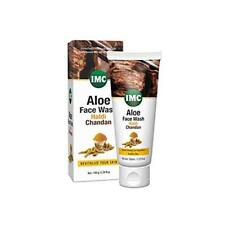 Aloe Face Wash With Turmeric & Sandalwood For Lightens Skin Tone - 100gm By Imc