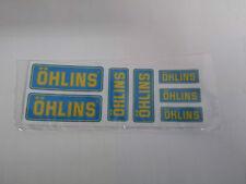 Adesivi OHLINS per moto ducati