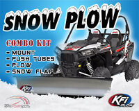 """Rubicon 500 IRS KFI Rear 2/"""" Receiver Hitch for 2015-2020 Honda Foreman 500 IRS"""