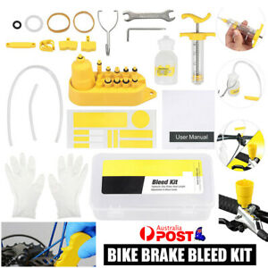 Bike Bicycle Hydraulic Disc Brake Bleed Kit Tool for Shimano Tektro Magura AU