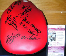 Carlos Ortiz Ruben Olivares & others Autographed Boxing Glove JSA COA Certified