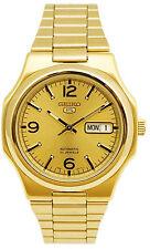 Orologio Seiko 5 SNKK64K1 in acciaio placcato oro automatico unisex gold dorato