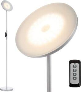 Joofo Floor Lamp 30W/2400Lumens Sky LED Modern Torchiere 3 Color Temps
