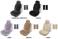 SINGLE 20mm SHEEPSKIN SEAT COVER PACK FOR MERCEDES-BENZ CLK270 CDI (PK 3)