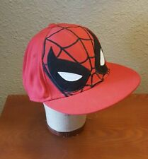 Marvel Spider Sense Spider Man Cap Red Size S Pre-owned