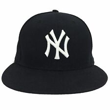 NEW YORK YANKEES NEW ERA 59FIFTY MLB ON-FIELD FITTED HAT BASEBALL CAP SIZE 7 1/2