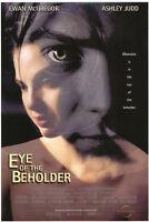 EYE OF THE BEHOLDER MOVIE POSTER Original DS 27x40 EWAN MCGREGOR ASHLEY JUDD