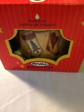 Rival Potpourri Crock Christmas Stocking Electric Simmering Cooker 3206 Nib