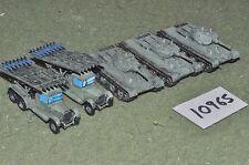 """15mm in plastica """"soldati"""" WW2 RUSSIAN veicoli (come foto) (10965)"""