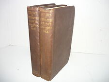 THE LIFE OF CHARLOTTE BRONTE/CURRER BELL,E.C.GASKELL,2 VOL.1857 LONDON 1ST ED