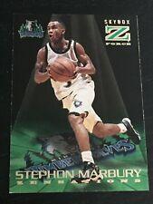 STEPHON MARBURY RC 1996-97 Skybox Z-Force ZENSATIONS #14 ~ Rookie Card ~ F1