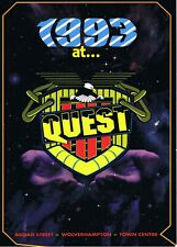 QUEST Rave Flyer Flyers A4 2/1/93 Broad Street Wolverhampton