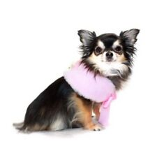 Nwt Dog Luxurious Faux Fur Cape By Hip Doggie, Pink, Size Medium