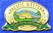 PACIFIC WESTERN BREWING Co PRINCE GEORGE B.C. Lapel Pin