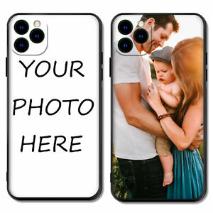 Personalized Soft TPU Rubber Phone Case Cover Custom Photo Picture Image Text