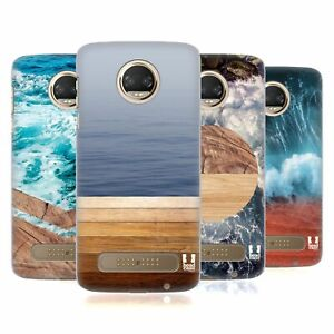 HEAD CASE DESIGNS SEA AND WOOD PRINTS BACK CASE FOR MOTOROLA PHONES 1