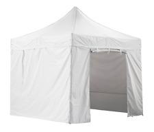 GREADEN - Tente pliante blanche avec 4 murs amovibles 3x3m SUPER
