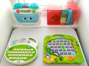 EDUCATIONAL INTERACTIVE PRE SCHOOL TOYS BUNDLE LEAPFROG AND CHAD VALLEY
