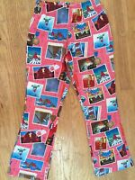 Girls 8-10 GNOME LEGGINGS Knit Pants PORTUGAL 140 OILILY POSTCARDS SNAPSHOTS