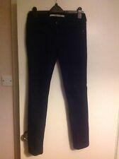Top shop Baxter straight leg black jeans uk 12 L 32 W30 good condition