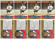 4 1990-91 Pro Set Gordie Howe Hartford Whalers #660 Season 32 VARIATION ERROR