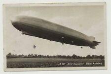 """Zeppelin AK LZ 127 """"Graf Zeppelin"""" Beim Aufstieg, gelaufen (44792)"""