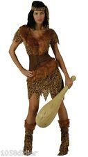 Disfraz Mujer Cuevas XL 44 Traje Adulto Hombre de cromagnon Prehistoria