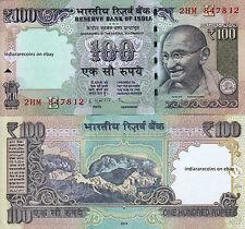 INDIA Withdrawn Mule Error 2014 100 RS Subbarao Paper Money Note UNC NEW Rare
