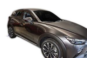 Mazda CX-3 5 portes 2015-prés Deflecteurs d'air Déflecteurs de vent 2pcs