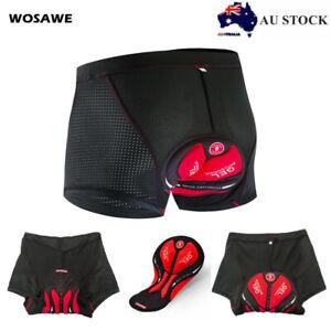 Padded Bike Shorts Cycling Underwear 5D padded Pants shorts MTB Women Men