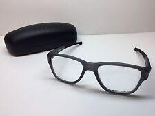 Oakley Splinter 2 Satin Grey Smoke Frames Rx Eyeglasses OX8094-0553 W/Case 53/18